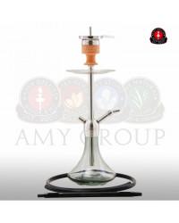 Amy Deluxe® SS13 Little Stick Steel Black Shisha / Hookah