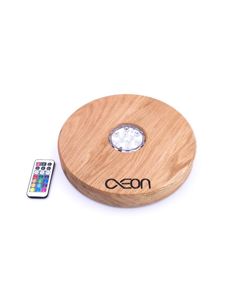 AEON x Shisha Brettl Oak Wood LED Base