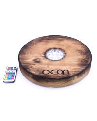 AEON x Shisha Brettl Oak Wood Flambé LED Base