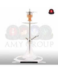 Amy Deluxe® SS13 Little Stick Steel Clear Shisha / Hookah